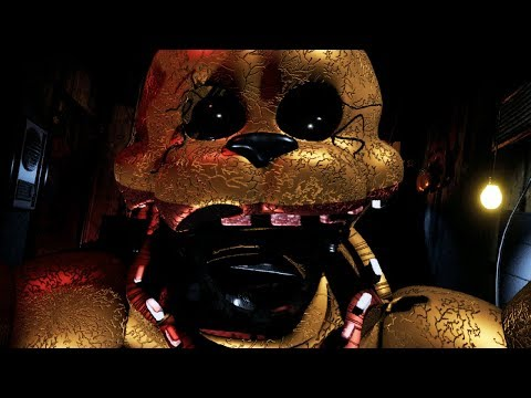 TERRIFYING FREDBEAR JUMPSCARE! || FredBear's Fright Gameplay (Five Nights at Freddys)