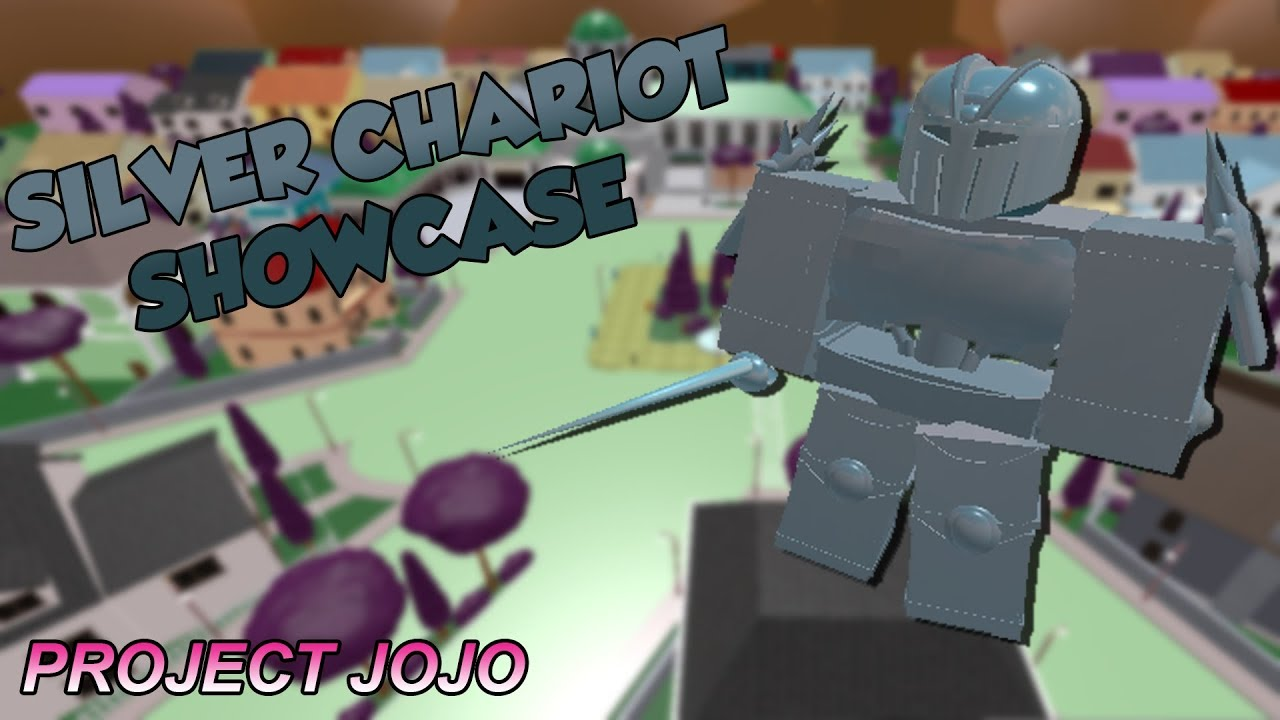 Silver Chariot Showcase Project Jojo Youtube