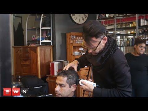 Thumbnail: Cape Town hairdresser gives homeless free haircut