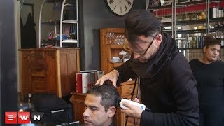 Mark Hughes, owner of GetMarked hair salon in Cape Town, decided to give back to the community by giving the homeless a free haircut. Nine residents at The Carpenter's shop second phase shelter, received a haircut and free grooming advice, as well as a gift pack filled with grooming products.   Click here to subscribe to Eyewitness news: http://bit.ly/EWNSubscribe  Like and follow us on: http://bit.ly/ EWNFacebookAND https://twitter.com/ewnupdates  Keep up to date with all your local and international news: www.ewn.co.za    Thump by Audionautix is licensed under a Creative Commons Attribution licence (https://creativecommons.org/licenses/by/4.0/) Artist: http://audionautix.com/  Produced by: Bertram Malgas