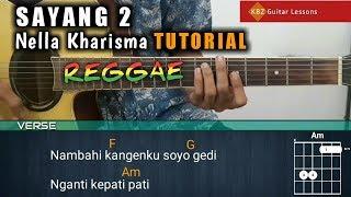 Nella Kharisma - Sayang 2 Reggae TUTORIAL GITAR | Chord + Strumming