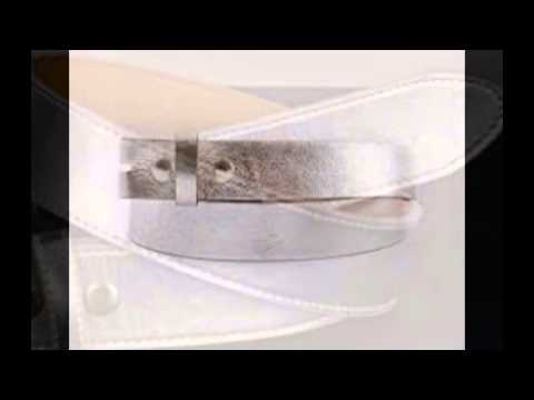 silver-leather-belt
