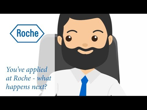 You've applied at Roche - what happens next?