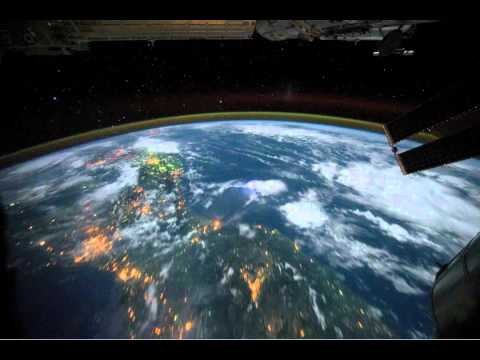 Narrated: Northwest coast of United States to Central South America at Night