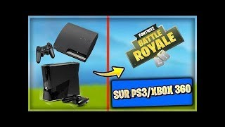 HAVE FORTNITE ON PS3/XBOX 360 FREE AND READABLE -EXCLU!!