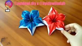 Origami Bunga || DIY Paper Flower Part1