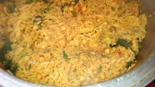 Degh style channa Pulao must try Recipe by Maria