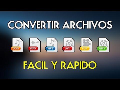 Convertidor de Vídeo, Audio e Imágenes  2019 (DVD, JPG, PNG, MP3, MP4, AVI, MKV)