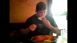 4 pound Burrito in 7 min @ Los Gringos Locos