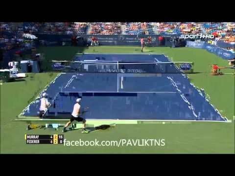 Andy Murray vs Roger Federer - Highlights - Cincinnati Open 2015