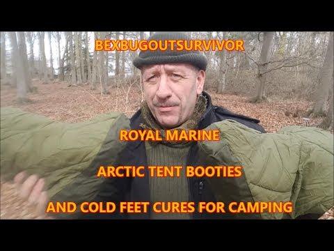 Royal Marine Arctic Tent Booties, & Cold Feet Solutions bexbugoutsurvivor