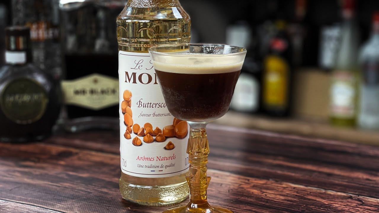Espresso Martini with Butterscotch