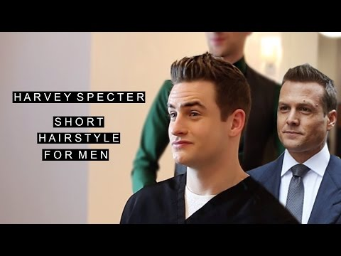 Harvey Specter Hairstyle  Gabriel Macht Celebrity Hair  Short Hairstyle for Men