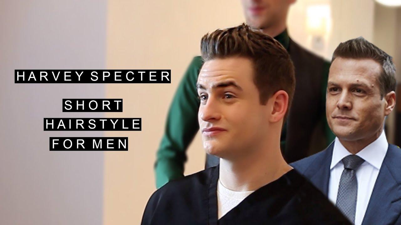 Harvey Specter Hairstyle Gabriel Macht Celebrity Hair Short