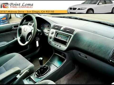2005 Honda Civic Hybrid 5 Sd Manual 1 3l Ulev San Go California