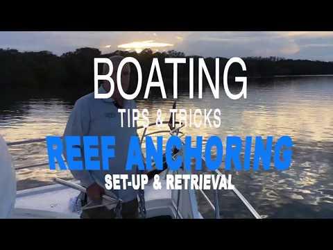 Deep Water Reef Anchoring - Tips & Tricks