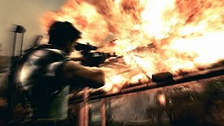 """Resident Evil 5 Intro & """"Ship Deck"""" Gameplay HD"""