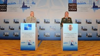 NATO Military Committee Conference - Joint press point