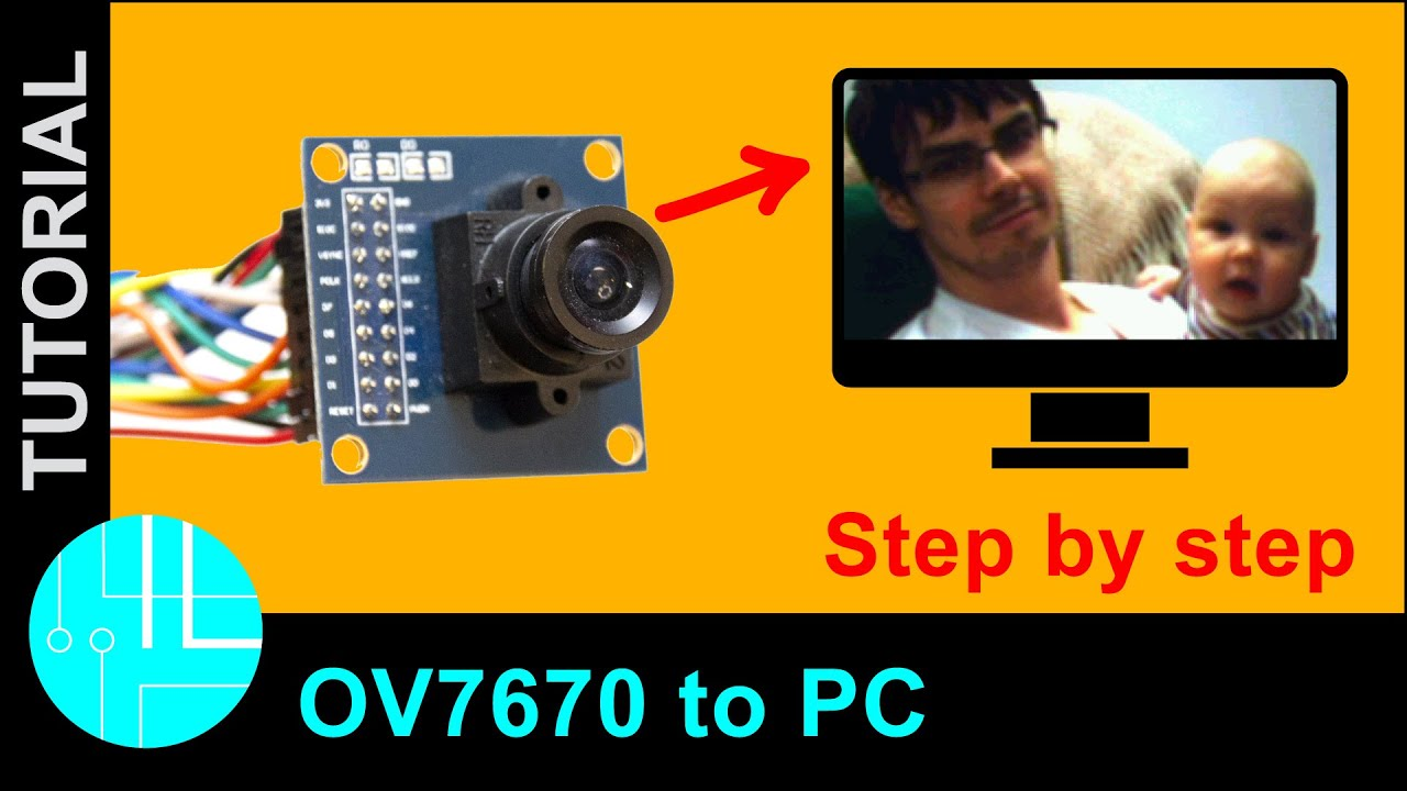 OV7670 Camera Module with Arduino: Color Image To PC (Step-By-Step Guide)