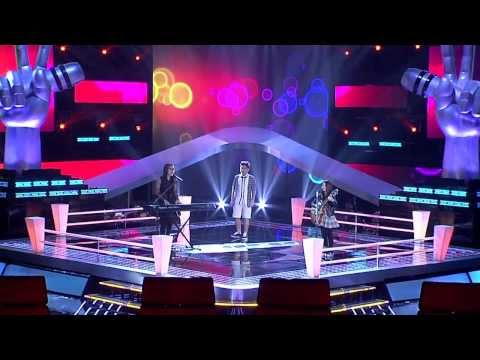 The Voice Kids Thailand - Battle Round - เจนนี่ VS ครีม VS ปัน - Sunday Morning - 9 Mar 2014
