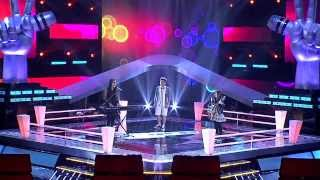 The Voice Kids Thailand - Battle Round - เจนนี่ VS ครีม VS ปัน - Sunday Morning - 9 Mar 2014