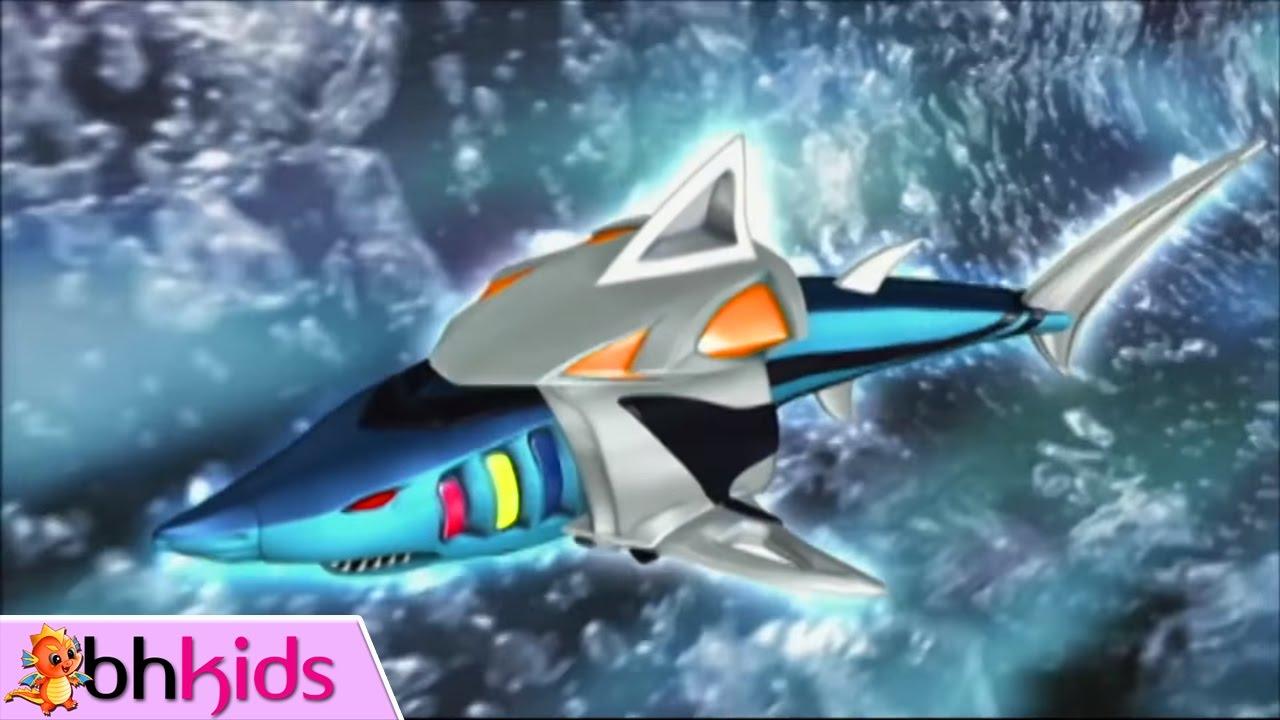 Phim Siêu Nhân Quyền Thú Tập 18 : Đại Mãnh Thú Cá Mập Quyền