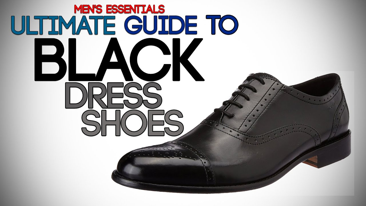 How to wear men's dress shoes