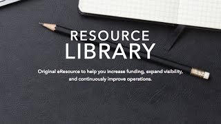 How To Use the Nonprofit Resource Library