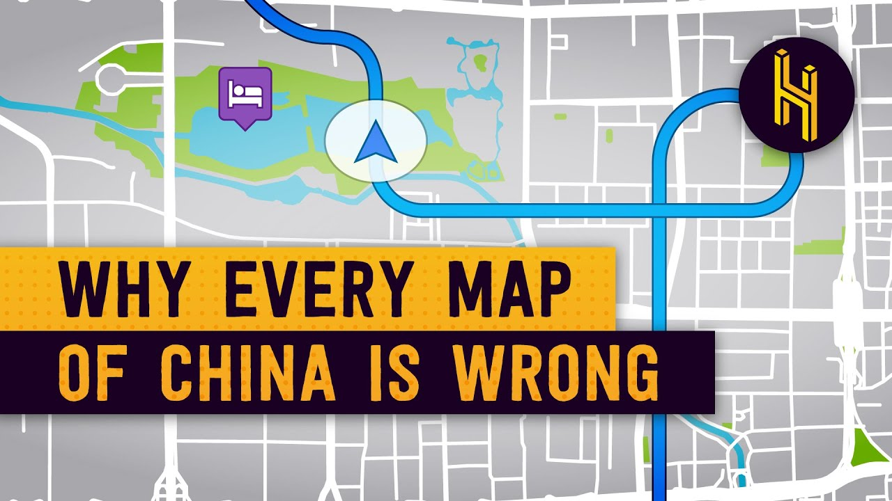 Why Every Map of China is Just Slightly Wrong