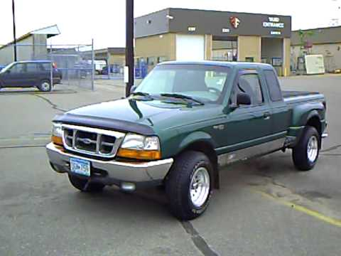 2000 Ford Ranger XLT Ext Cab 4WD - YouTube