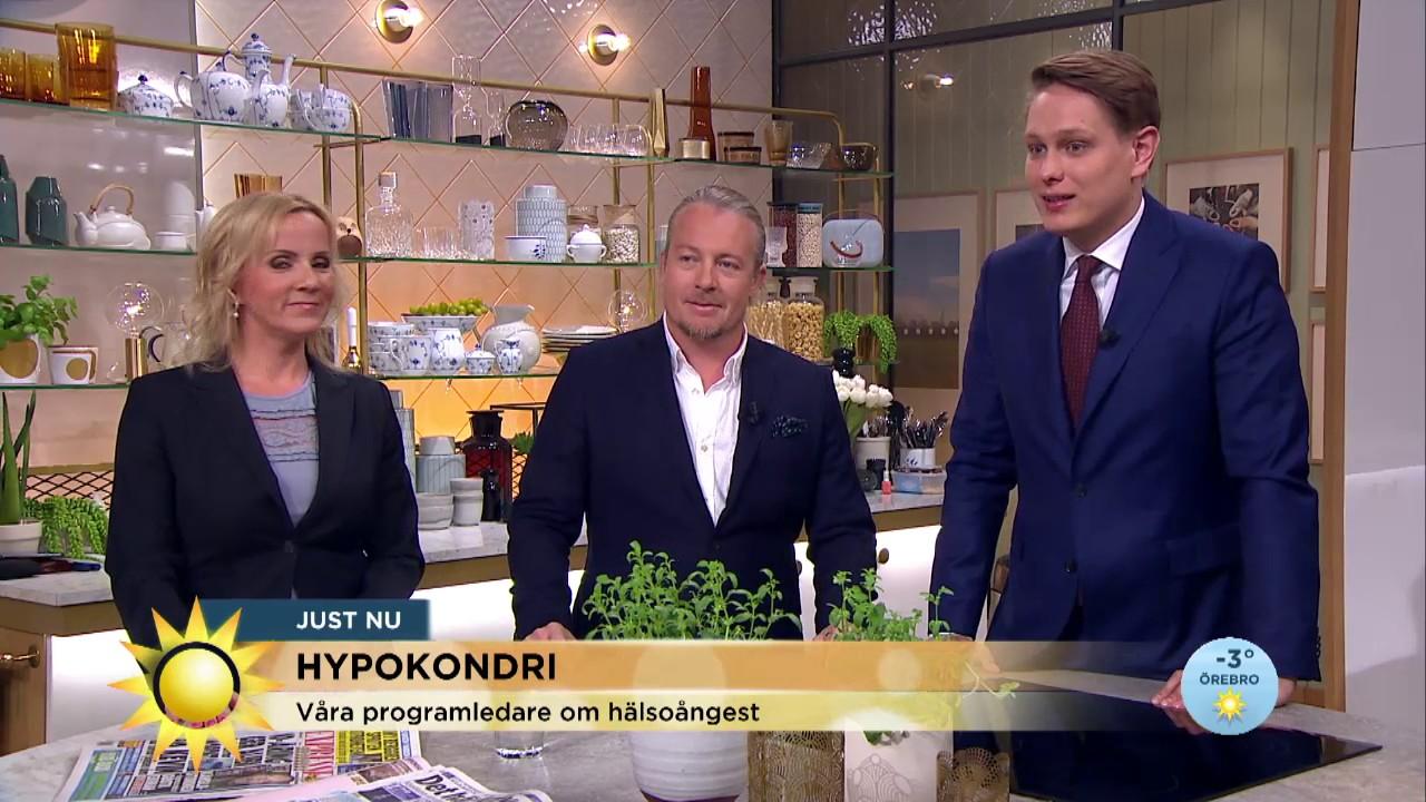 Programledaren Max Kanns Som En Hypokondriker Nyhetsmorgon Tv4 Youtube