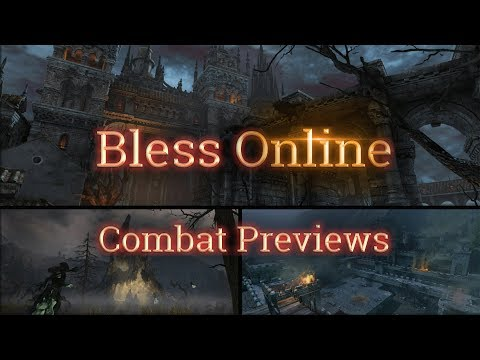 Bless Online News - 🎇Combat Previews Comparison - [New/🎌Japan] (4/30/2018) - [Dungeon, PVP, Concern]