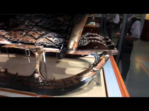 Viking Ship Museum - Oslo, Norway - Oseberg Ship Artifacts - Sept. 8, 2013