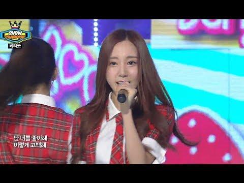 Berry Good - Love Letter, 베리굿 - 러브레터, Show Champion 20140604