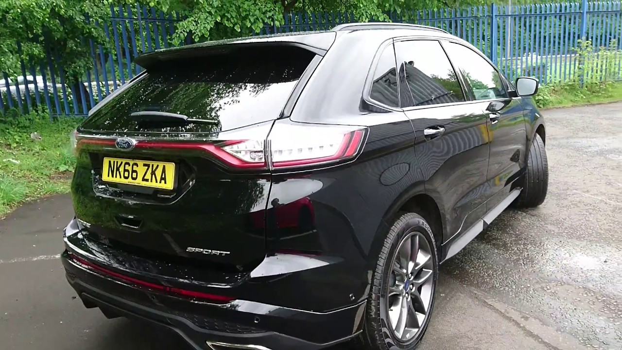Used Ford Edge   Sport Dr Shadow Black