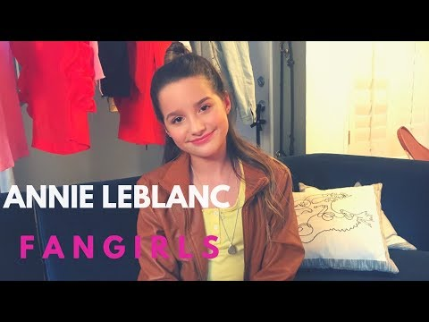 EXCLUSIVE: Annie LeBlanc FANGIRLS Over THIS YouTuber