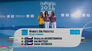 Восемь медалей добыли российские спортсмены в шестой день юношеской Олимпиады (новости)