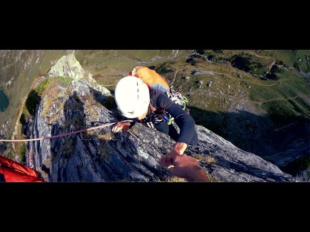 Club Alpin de Pau - Teaser -  Pene sarriere face Est +  arête sud (taillante)