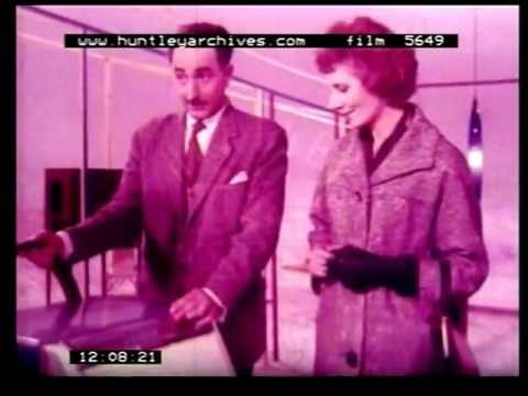 Film about automatic washing machines 1960's film 5649