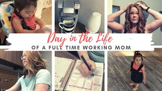 FULL TIME WORKING MOM VLOG 2020 - Day In The Life