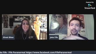 Episode 2 Ghost Biker Garage LIVE - Shop Talk w/Jake Fife from the Fife Paranormal