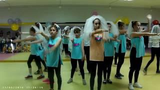 Наше выступление на Отчетнике, танцы, Кунгур, MOVE ds, невеста