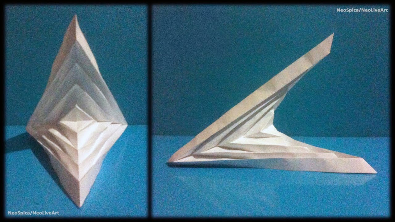 Tutorial 5 Folding Example Hyperbolic Paraboloid Youtube
