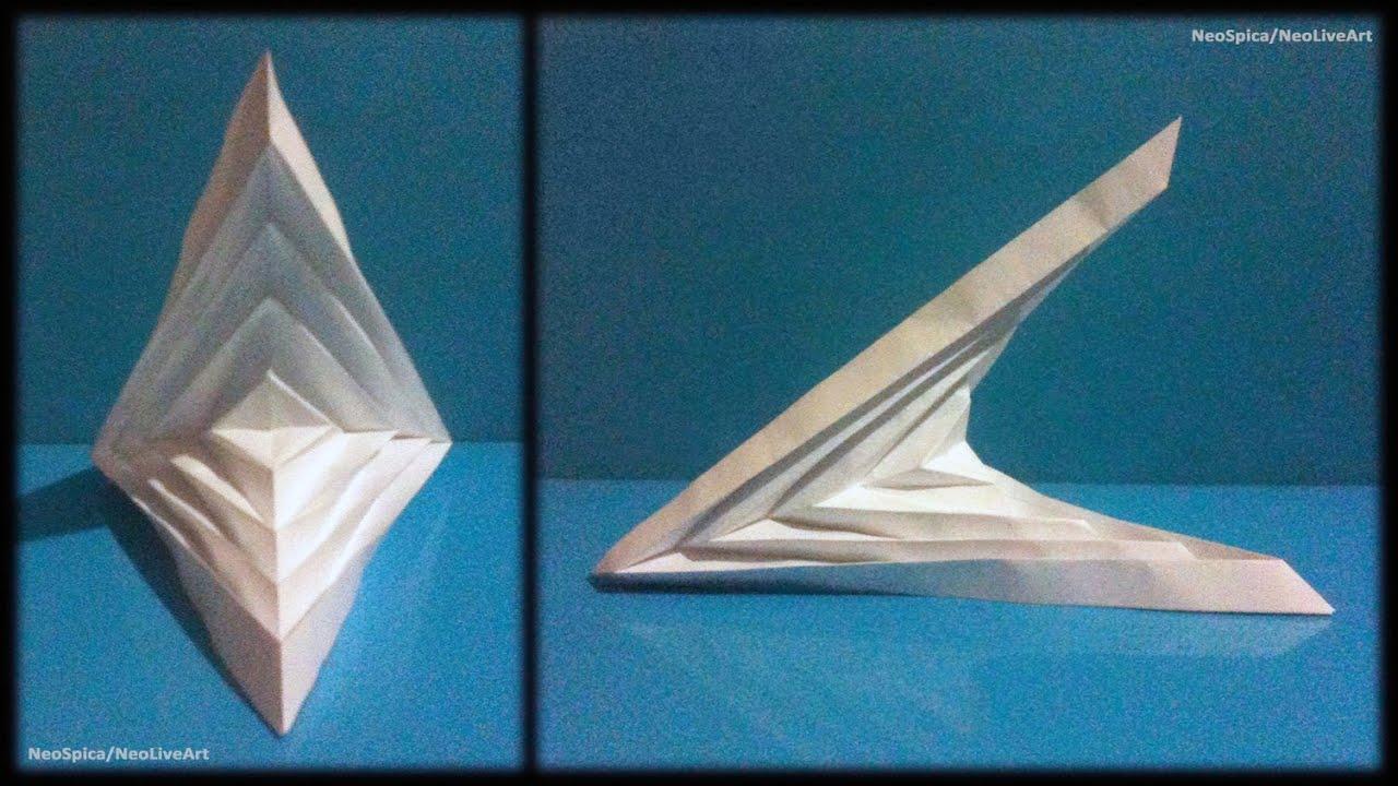 Tutorial 5 Folding Example Hyperbolic Paraboloid