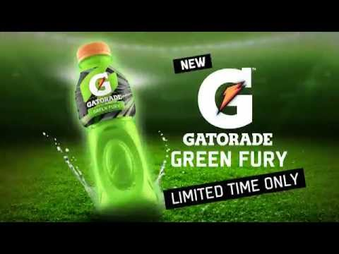Gatorade Green Fury