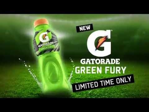 Gatorade Green Fury
