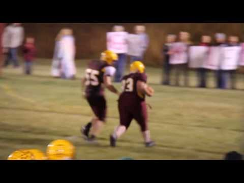 Harlowton High School Football with Kaleb