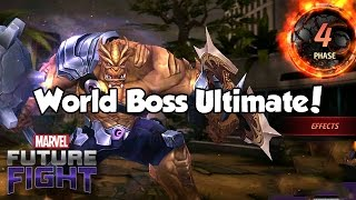 World Boss Ultimate! - Marvel Future Fight