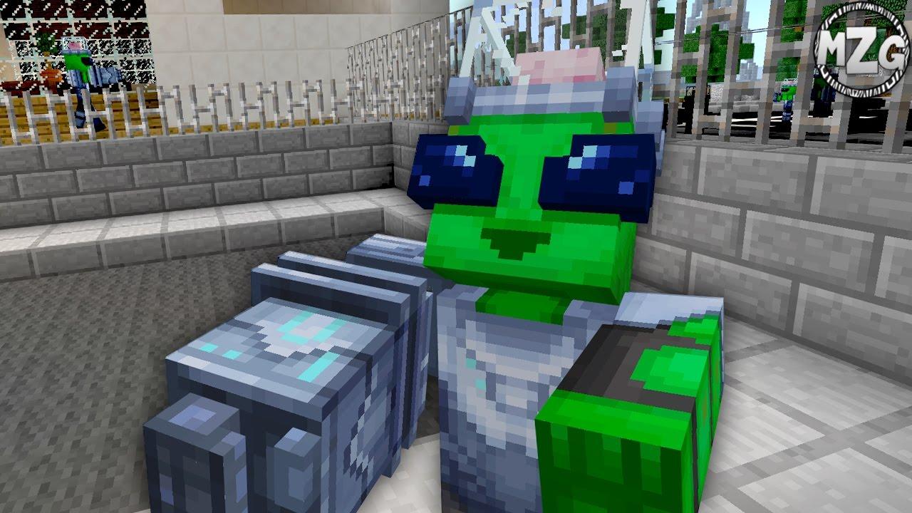 Alien Invasion Minecraft Windows 10 Edition Add Ons Gameplay YouTube