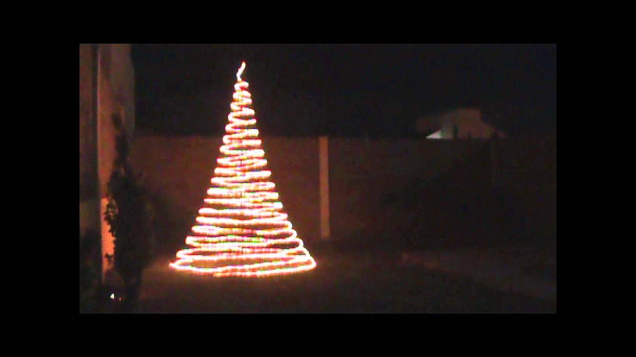 Video arbol navide o youtube - Arbol de navidad exterior ...